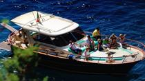 Capri & Sorrento Boat Experience Daily Tour with Limoncello Tasting From Pompeii, Pompeï