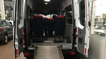Minivan suitable for transporting disabled people with a wheelchair, Rome, Bus & Minivan Tours