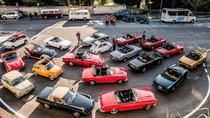 Self Drive Tour of Rome and Roman Castels in Classic Auto from Rome in full day with lunch, Rome,...