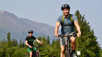 Biking Turnagain Arm and lunch at Alyeska Tram tour, Anchorage, City Tours