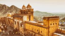 Excursion privée : fort d'Amber et Jal Mahal, avec promenade en Jeep, Jaipur, Private ...