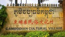 Cambodia Culture Village - afternoon & Pub Street or Night Market with Tuk Tuk, Siem Reap, Market...