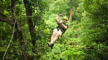 Mazatlan Super Saver: Canopy Zipline plus ATV Adventure, Mazatlan, null