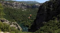 Cetina River Zipline Experience from Split, Split, White Water Rafting