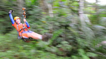 Full-Day Zipline and Waterfall Rappelling Adventure Near San Juan, San Juan, Ziplines