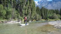 Wapta Falls Wild and Scenic Stand Up Paddleboard Tour, Kootenay Rockies, White Water Rafting & ...