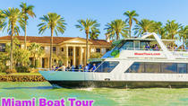 Miami Boat Tour of Millionaire' Row with Hotel Pick-up, Miami, Cultural Tours