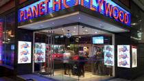 2 Course Meal at Planet Hollywood, London, Dining Experiences