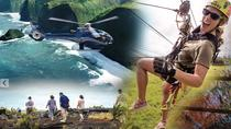 Big Island Adventure Combo: Helicopter, Zipline and Lava Tour, Big Island of Hawaii, Helicopter ...