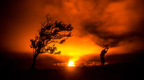 Kilauea Hike and Glow from Kona, Big Island of Hawaii, Helicopter Tours