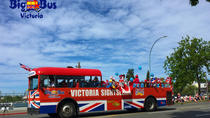 Grote bus Victoria Hop-On hop-off rondleiding door de stad, Victoria, Hop-on Hop-off Tours