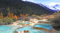 2-Day Jiuzhaigou and Huanglong National Parks Independent Tour from Chengdu by Air, Chengdu, null