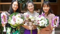 Private 3-Hour Thai Style Flower Handicraft Class in Chiang Mai Downtown, Chiang Mai, Craft Classes