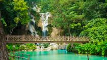 Full Day Tour To Pak Ou cave, Traditional village and Kuang si waterfalls, Luang Prabang, Full-day ...