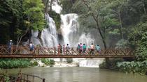 Private tour: Slow Boat Tour To Pottery Village, Kuangsi falls and Laos Buffalo Dairy Farm, Luang ...