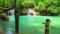 Visiting Pak ou cave Whisky Village and Kuang si waterfalls 1 day tour, Luang Prabang, Day Trips