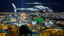 Deluxe Las Vegas Helicopter Night Flight with VIP Transportation, Las Vegas