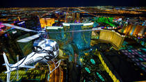Deluxe Las Vegas Helicopter Night Flight with VIP Transportation, Las Vegas, Helicopter Tours