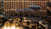 Viator Exclusive: VIP Helicopter Strip Flight with Eiffel Tower Dinner, Las Vegas, Sightseeing ...
