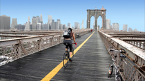 Manhattan und Brooklyn Bridge - Fahrradverleih, New York City, Bike Rentals