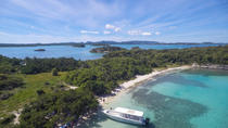 Creole Antigua Tours Snorkel-Lobsterlunchcruise till Bird and Maiden Island, Antigua, Snorkling