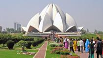 Afternoon Tour of Delhi Including The Lotus Temple, ISKCON and Connaught Place with Dinner, New...