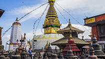 Full day Private Sightseeing Tour of Kathmandu including visit to Swayambunath and Bhaktapur, ...
