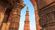 Historic Delhi Morning Tour Including Chattarpur Temple and Qutub Minar with Tuk-Tuk Ride, New...