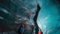 Small Group Ice Caving Tour Inside Vatnajokull Glacier, Skaftafell, Hiking & Camping