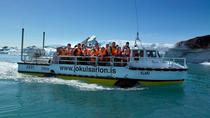 South Coast Day Trip, Glacier Hike in Vatnajokull National Park and Glacier Lagoon Boat Ride from ...