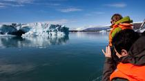 Vatnajokull Glacier Hike and Glacier Lagoon Boat Ride Adventure in Skaftafell, Skaftafell, Hiking & ...