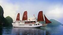 Halong Flamingo Cruise 3 Days 2 Nights visit Titov cave depart from Hanoi, Hanoi, Day Cruises