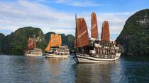 Halong Victory Star cruise luxury 5 star 2days 1night discover beautiful caves, Hanoi, Day Cruises
