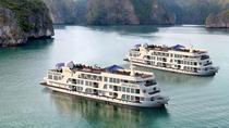 Newly Halong Era Cruise visiting and kayaking at Halong bay 2 days 1 night, Hanoi, Day Cruises