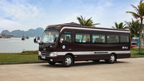 Quang Ninh Bai Chay transfer to Ha Noi with luxury van, Halong Bay, Bus & Minivan Tours