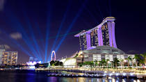 Singapore Night Sightseeing Tour with Singapore River Boat Cruise, Singapore