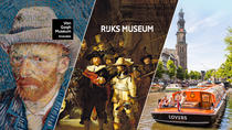 Skip the Line: Van Gogh Museum and Rijksmuseum Tour Including Amsterdam Canal Cruise and Lunch,...