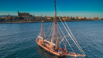 Sunset sailing trip on the oldest spanish boat, Mallorca, Day Cruises