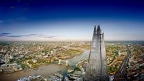 Eintrittskarte zur Aussichtsplattform The View in The Shard mit optionalem Glas Champagner, London, ...