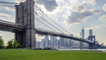 Manhattan to Brooklyn NYC Walking Tour: Brooklyn Bridge en Dumbo, New York City, Walking Tours