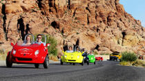 Scooter-Auto-Tour durch den Red Rock Canyon mit Transport von Las Vegas, Las Vegas, Vespa, Scooter & Moped Tours