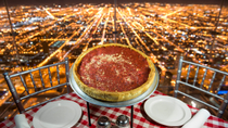 Abendessen auf dem Skydeck des Willis Tower, Chicago, Dining Experiences