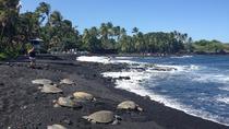 Hawaii Big Island Circle Small Group Tour: Waterfalls - Hilo - Volcano - Black Sand Beach, Big...