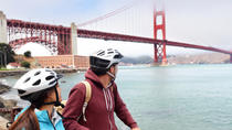 Fahrrad die Golden Gate Bridge, San Francisco, Bike & Mountain Bike Tours
