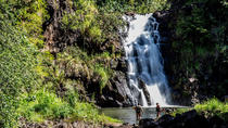 Intimate North Shore Eco-Fun Waterfall from Ko'Olina, Oahu, 4WD, ATV & Off-Road Tours