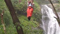 Mega Waterfall Zipline Tour from San Jose, San Jose, Ziplines