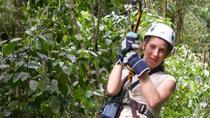 Puntarenas Shore Excursion: Waterfall Canopy Zipline Tour