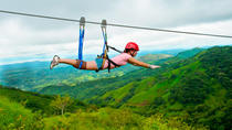 Superman Zipline Canopy Tour from Jaco, Jaco, Ziplines