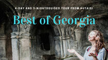 Best of Georgia: 4-Day and 3-Night Guided Tour from Kutaisi, Georgia, Multi-day Tours