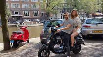 Laidback scooter rental, Amsterdam, Vespa Rentals